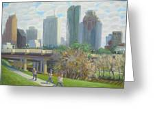 View From The Skate Board Park Greeting Card