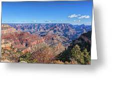 View From The South Rim Greeting Card