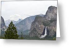 View From The Valley Greeting Card