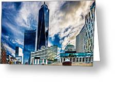 View From Tribeca Greeting Card