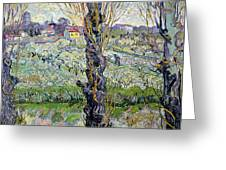 View Of Arles Greeting Card by Vincent Van Gogh