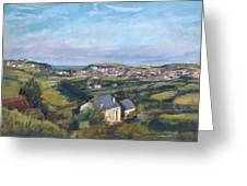 View Of Bude In Cornwall Greeting Card