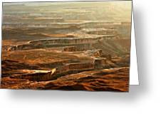 View Of Canyonlands Greeting Card