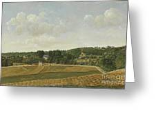 View Of Chatenay Greeting Card