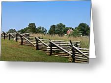 View Of Clover Hill Tavern Appomattox Court House Virginia Greeting Card