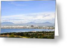 View Of Da Nang 2 Greeting Card