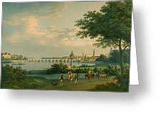 View Of Dresden Greeting Card