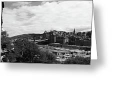 View Of Edinburgh Greeting Card