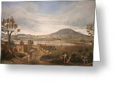 View Of El Paso Greeting Card