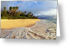 View Of Fiji Greeting Card