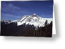View Of Garibaldi Mountain Greeting Card