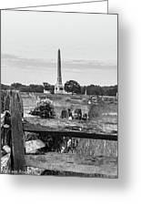 View Of Gettysburg  Greeting Card