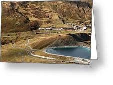 View Of Kleine Scheidegg Greeting Card