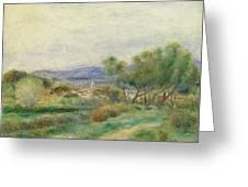 View Of La Seyne Greeting Card