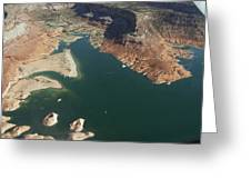 View Of Lake Powell Greeting Card