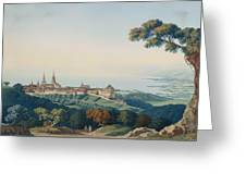 View Of Lucerne Greeting Card