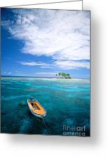 View Of Micronesia Greeting Card