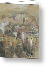 View Of New York City Greeting Card