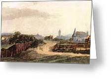 View Of Nuremberg 1497 Greeting Card
