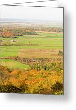 View Of Ottawa Valley In Autumn 13 Greeting Card