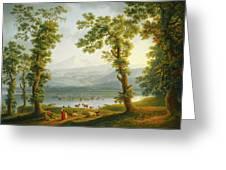 View Of Piedimonte Greeting Card