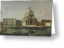 View Of Santa Maria Della Salute. Venice Greeting Card