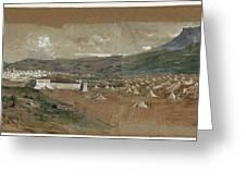 View Of Tetouan Greeting Card