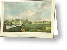 View Of The Battle Ground At Concord Mass Greeting Card
