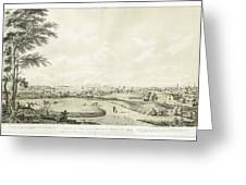 View Of The City Of New York Greeting Card