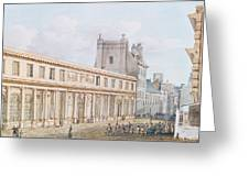 View Of The Ecole De Medecine Greeting Card