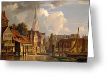 View Of The Little Alster Greeting Card