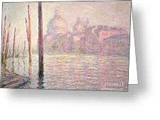 View Of Venice Greeting Card