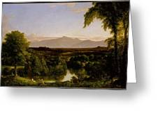View On The Catskill Greeting Card