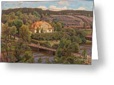 View Over Billnas Greeting Card