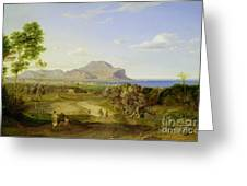 View Over Palermo Greeting Card