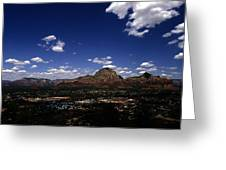 View Overlooking Sedona, Arizona Greeting Card