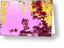 Colored View Greeting Card