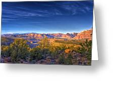 View Zion From Afar Greeting Card