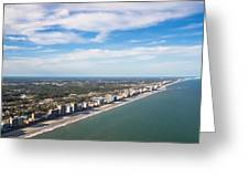 Views From Above Greeting Card