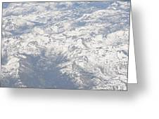 Views From The Sky Greeting Card