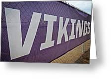 Vikings Banner Greeting Card