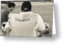 Vikings Fan Greeting Card