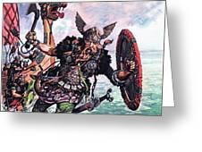 Vikings Greeting Card