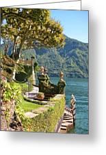 Villa Balbianello Marina Greeting Card