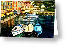 Villa Franche Greeting Card