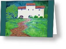 Villa In Tuscany Greeting Card