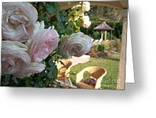 Villa Roses Greeting Card