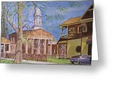 Village Hall- Montour Falls Greeting Card