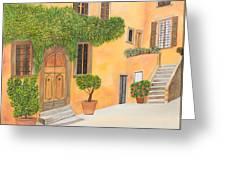Village In Tuscany N. 4 - Greeting Card