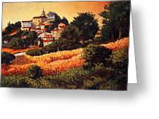Village Of Molise Italy Greeting Card